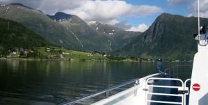Fjordcruise til Rosendal