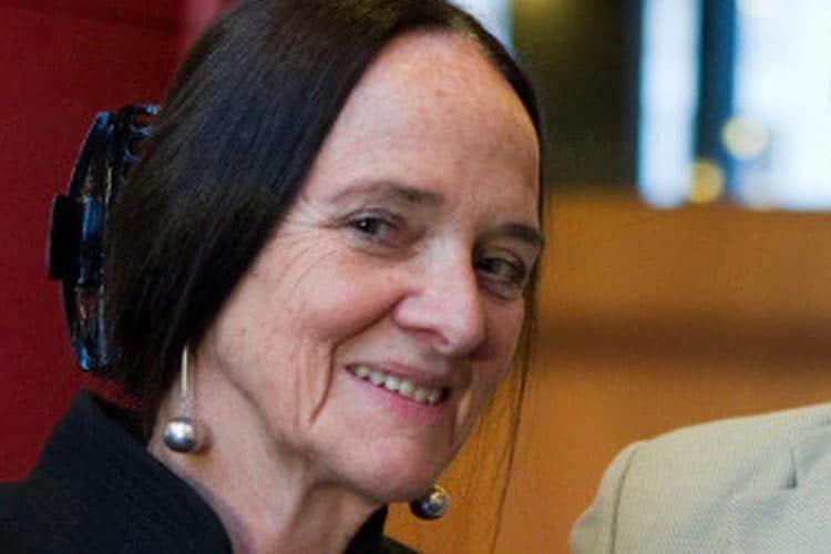Elisabeth Aasen, forfatter. Foredrag på Baroniet Rosendal