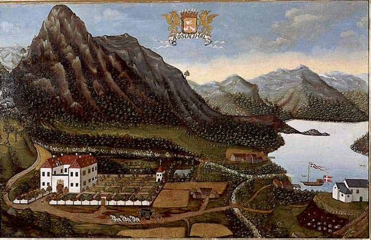 Hans Sager (1705) Baroniet Rosendal