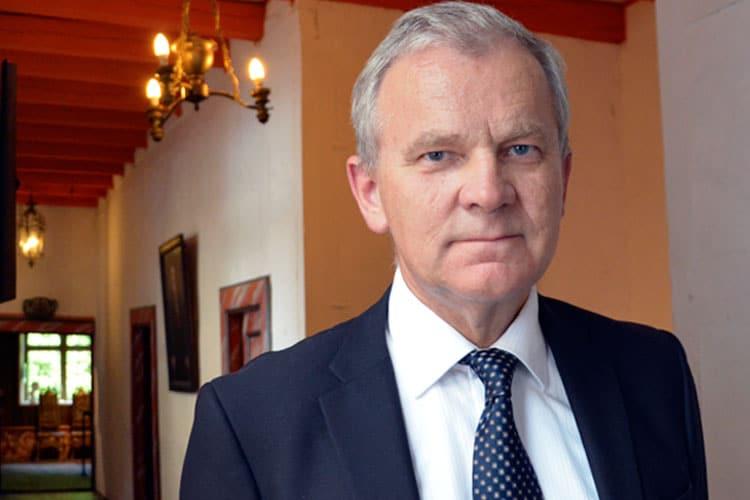 Kjell Arild Pollestad, forfatter, foredrag på Baroniet Rosendal