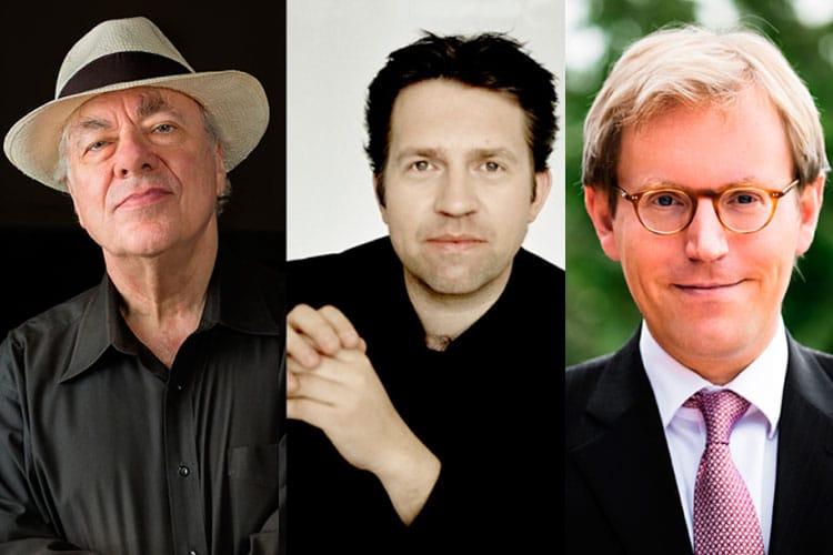 Leif Ove Andsnes, RICHARD GOODE, Jan Jiracek vom Arnim , mesterklasser på Baroniet Rosendal