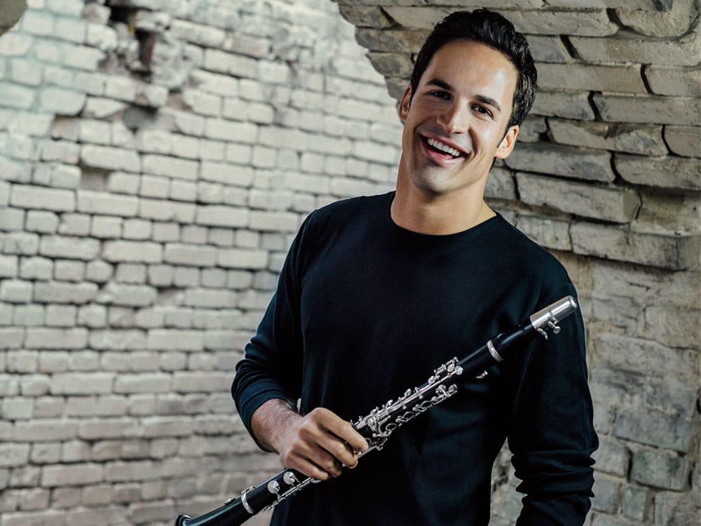 Andreas Ottensamer, klarinett. Photo Katja Ruge, Decca Classics