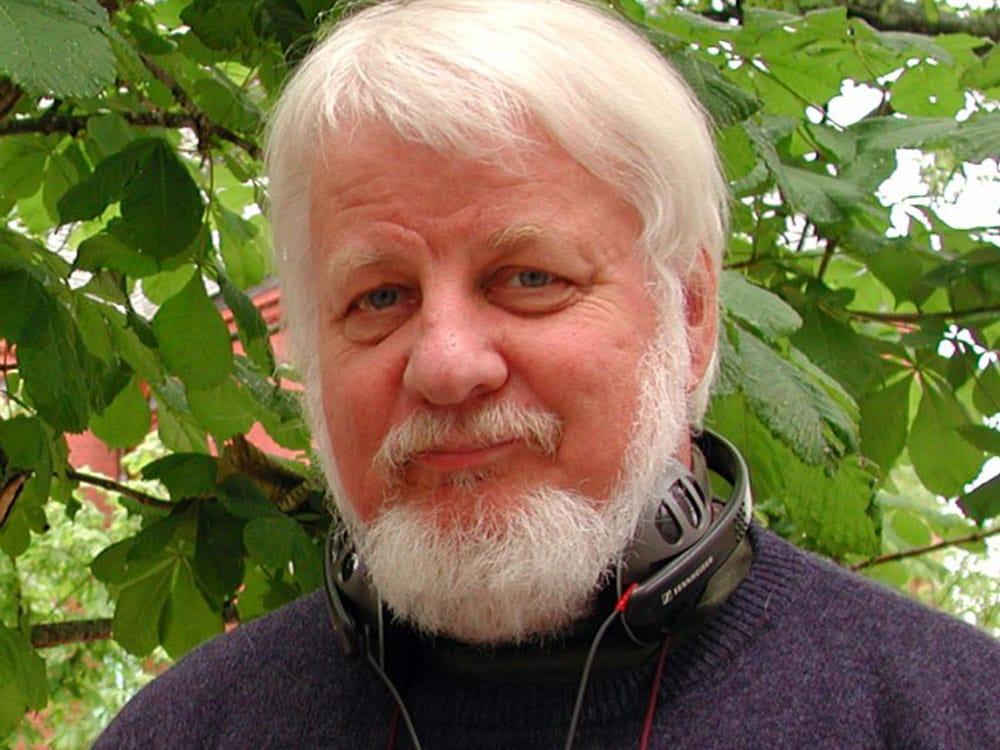 Gunnar Danbolt, professor i kunsthistorie. Foto: Erling Johnsen, NRK