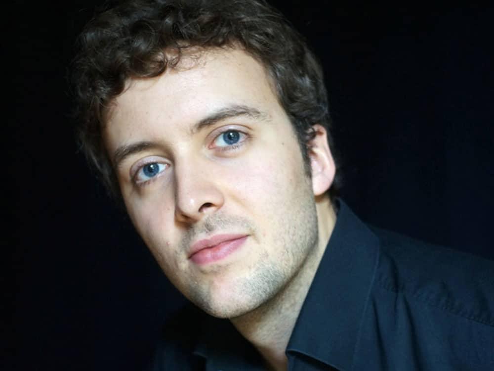 Joachim Carr, klaver. Konsert på Baroniet Rosendal sør for Bergen.