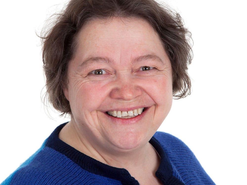 Anniken Greve, professor, foredrag på Baroniet Rosendal