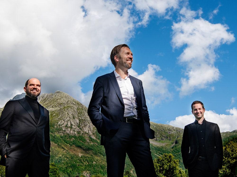 Rosendal Kammermusikkfestival med Leif Ove Andsnes, Kirill Gerstein og Bertrand Chamayou