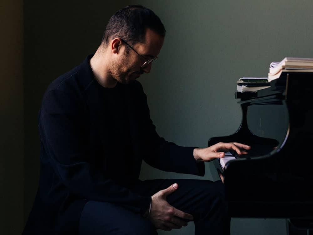 Igor Levit, piano. Foto Robbie Lawrence